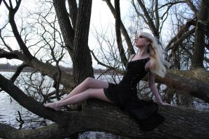 Black Fairy Stock by MariaAmanda