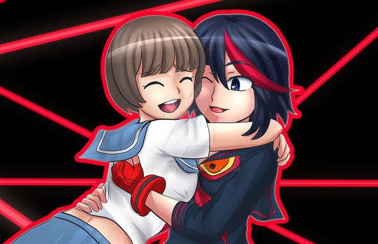 Mako-chan to Ryuko-kun by Rezuban