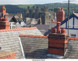Roof Tops 01 by AnitaJoy-Stock