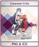 Classroom Crisis - Anime Icon by Aliceieous