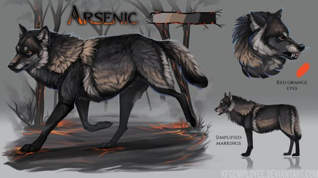 Arsenic's fancy sheet by KFCemployee