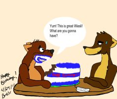 For GreasySalvador's B-day by BlueTigress94