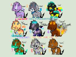 {CLOSED}  happy 60+ watchers guys! by Flare-goes-OM-adopts