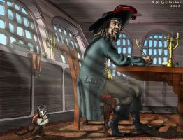 Captain Barbossa by Swashbookler