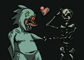 chionick love mr bones by brotoad
