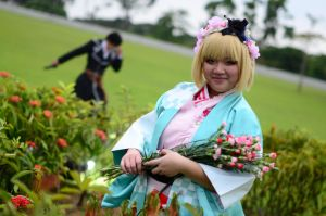 [Cosplay] Ao no Exorcist - Shiemi + Yukio shoot 02 by JokumiUsui
