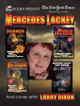 Mercedes Lackey 6x8 by latchkey-artist