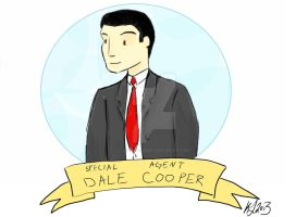Dale Cooper by SymmetryIsArt