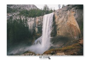 Vernal Falls by Bl4ck-and-wh1te