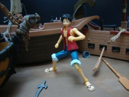 One Piece - Luffy S.H. figuarts by stopmotionOSkun