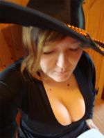 Sexy Witch - Reading by Midnight-Dark-Angel