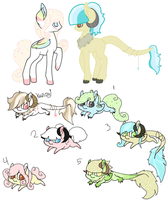 Pony Breedable Adopt by Lost-REM