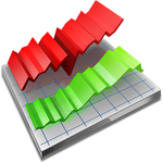 Line chart icon 2 by Ornorm
