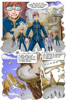 Steampunk / Fantasy Webcomic by KneonT