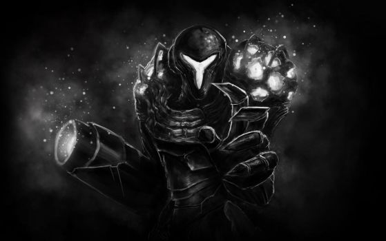 Dark Samus by RobTromans