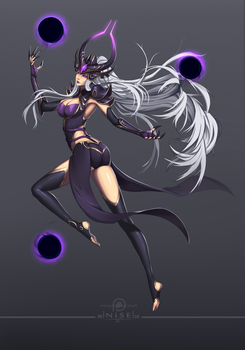 [LOL] - Syndra, the dark sovereing + VIDEO by dNiseb