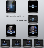 Iconos EQO: Starcraft II by NEtapa