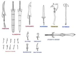 Weapons Gallery by Drayco587