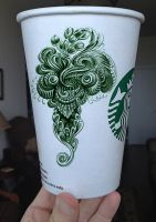 Starbucks Intergalactic, new logo by Bennett-Klein