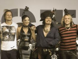 Adam Ant at Parkpop 15 by Steve-Cam