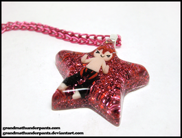 Rin Star Necklace by GrandmaThunderpants