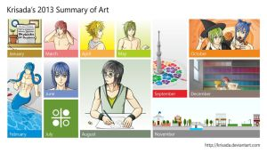 Krisada's 2013 Summary of Art by Krisada