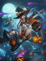 A Halloween Over Piltover by Speeh