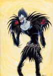 Ryuk and His Apples by shadesoflove