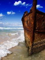The Wreck of the Maheno by kaymanism