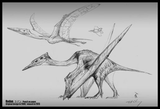 Rodan -- Pterosaurs form by cheungchungtat