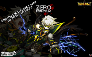 Zero of Grand Chase by Christophere13