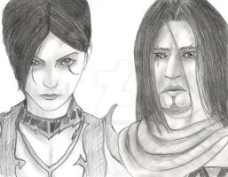 Prince of Persia and Shahdee by simonsaz3