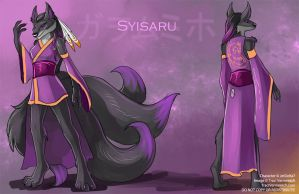 [Blind Character Design] Syisaru by Ulario