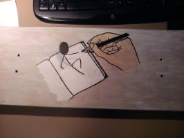 Hand's On Decks Board #2: W.I.P. 2 by Benjaminvdm