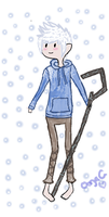 Jack Frost: Adventure Time by LoveUndertaker