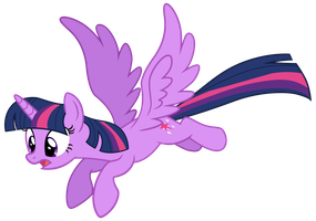 [MLP VECTOR] Twilight Fly 01 by Light262