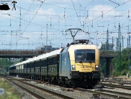 1047 004-5 with VSOE in Gyor-gyarvaros on 2010 by morpheus880223