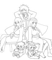 Naruto's double family by mattwilson83