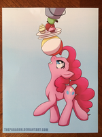 Bronycon 2013 Pinkie Print: Bottom by TheParagon