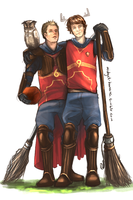 Gryffindor Winchester Brothers HP!AU by L-a-m-o-N