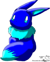 .:Bubble The Eevee:. by inuyashacrazy1
