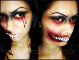 A BLOODY MESS by MaKEuPWHoRE