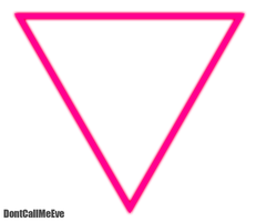 Born This Way Triangle PNG by DontCallMeEve