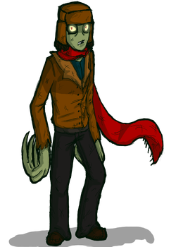 Salad Fingers by TemporalCrow