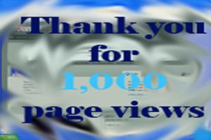 Thank you for 1000 page views. by xxvorachaixx