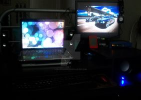 my workstation by crazyassgirl87
