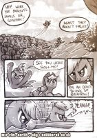 MLP FiM: Earth + Sky page 1 by nattherat