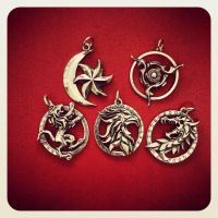The elder scrolls online jewelry by Worldofjewelcraft