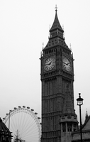 Big Ben and the Eye by psychoviolinist1012