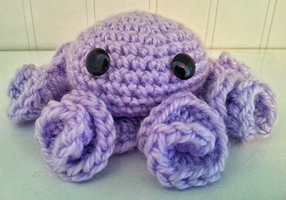 Curly-Tentacle Octopus by kendra-fairy